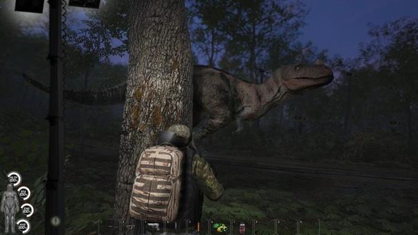 Динозавры в SCUM! Привет из...