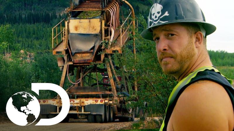 Você tem que transportar a planta de lavagem Febre do Ouro Discovery Brasil