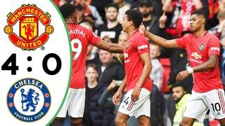 Manchester United vs Chelsea 4:0 - All Goals & Highlights - Premier League 2019/2020