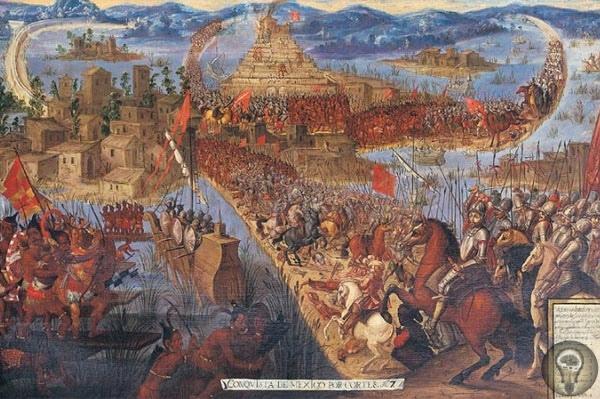Завоевание Кортесом Мексики