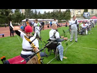 Российские паралимпийцы-лучники провели сбор в Алуште
