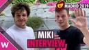 Miki La venda Spain 2019 Interview @ PrePartyES Eurovision Party Madrid