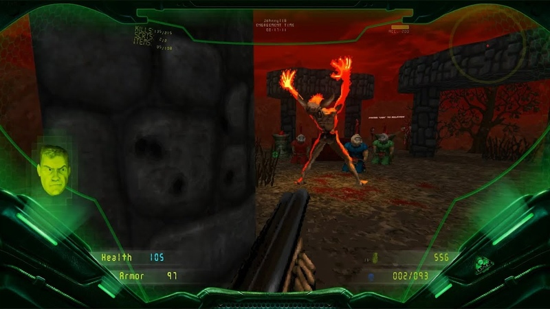 Brutal DOOM v21 Extermination Day Latest Build (bd21rc2b) Level 28 [100 secrets]