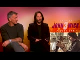 Keanu Reeves reveals who he would choose to protect him and talks John Wick Av