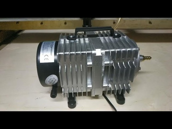 Обзор Компрессора ACO-009D для лазерного CO2 станка