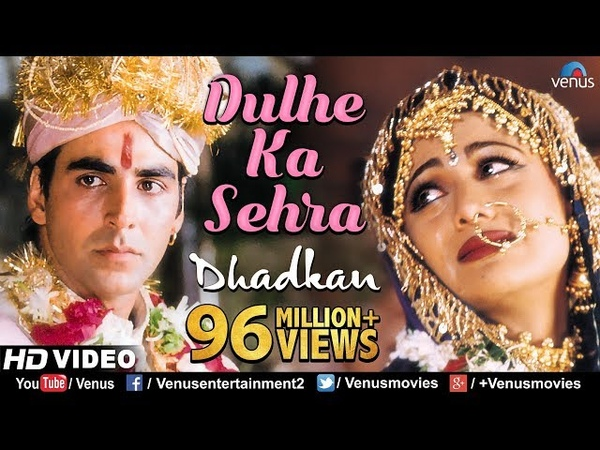 Dulhe Ka Sehra - HD VIDEO SONG   Akshay Kumar Shilpa Shetty  Dhadkan  90s Bollywood Marriage Song