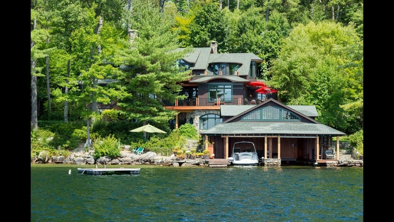 The Ultimate Family Compound on Lake Winnipesaukee