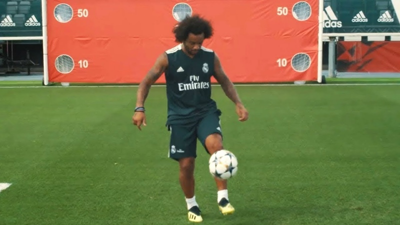 Марсело удивил Всех на тренировке 2019