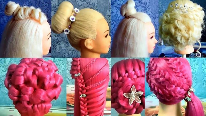 Топ 10 Прически в школу / шаш өру түрлері оңай және әдемі / Beautiful hairstyles for school