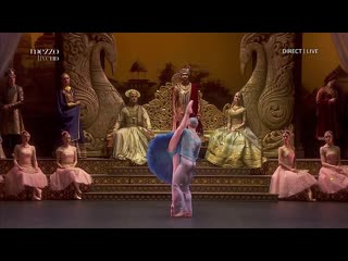 La bayadère [by nacho duato] angelina vorontsova / victor lebedev / andrea laššáková [mikhailovsky theater ballet company]