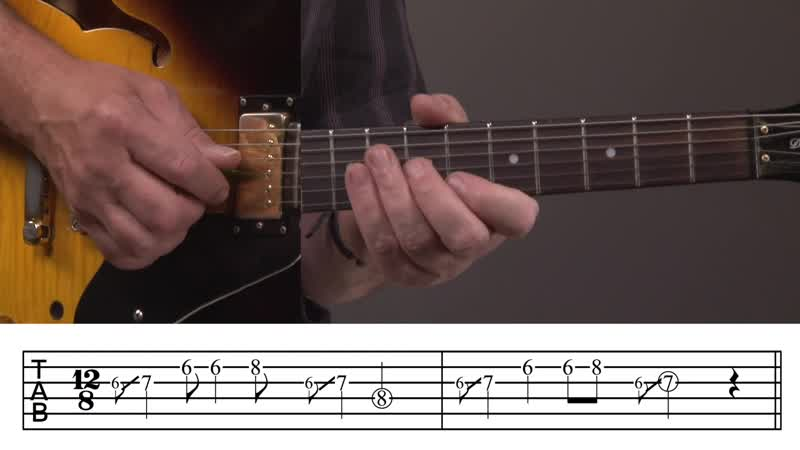 Jody Worrell - Jazzy Blues Guitar Lick Lesson