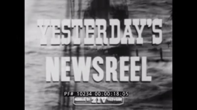 YESTERDAY'S NEWSREEL 1931 BALKAN EARTHQUAKE TRANSCONTINENTAL PHONE CALL WILL HAYS 10234