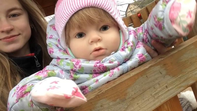 🦋VLOGвыходные на даче с Вероникой куклы реборн 🦋