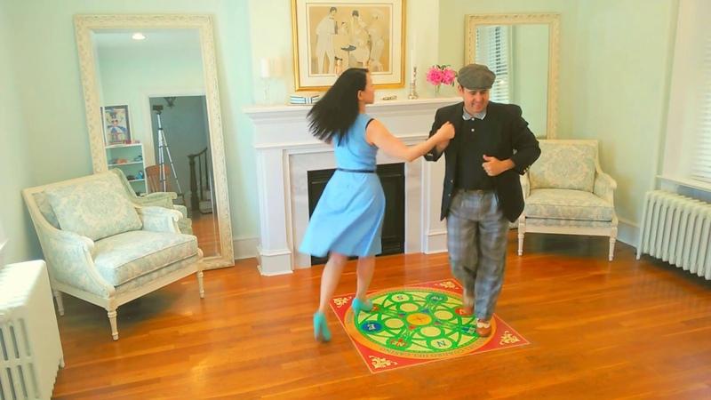 Akiko y Yoel bailando Casino Bien Formado Es tu mirada No 2
