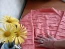 111. Джемпер Коралловая нежность / Women's sweater Coral tenderness