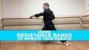 STRONGER FASTER KARATE Resistance Band Training ho goju donto