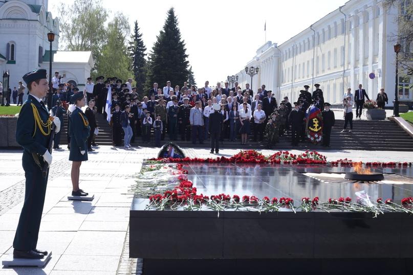 Крупные компании Нижнего Новгорода приняли участие в праздновании 9 Мая