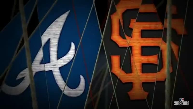 MLB | Braves vs Giants | RS 2019
