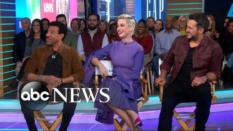 Katy Perry Luke Bryan and Lionel Richie dish on new 'American Idol' GMA