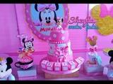 Minnie bebe dorada, decoraci