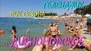 ГЕЛЕНДЖИК Дивноморское Столпотворение на пляже Набережная и цены июль 2019