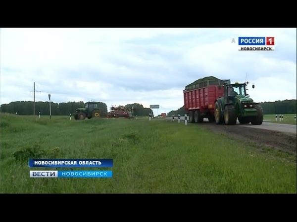 Почти все районы Новосибирской области завершили посевную кампанию
