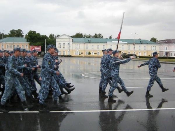 Парад в честь 75 годовщины освобождения Петрозаводска от оккупантов (2019 г.) Репетиция