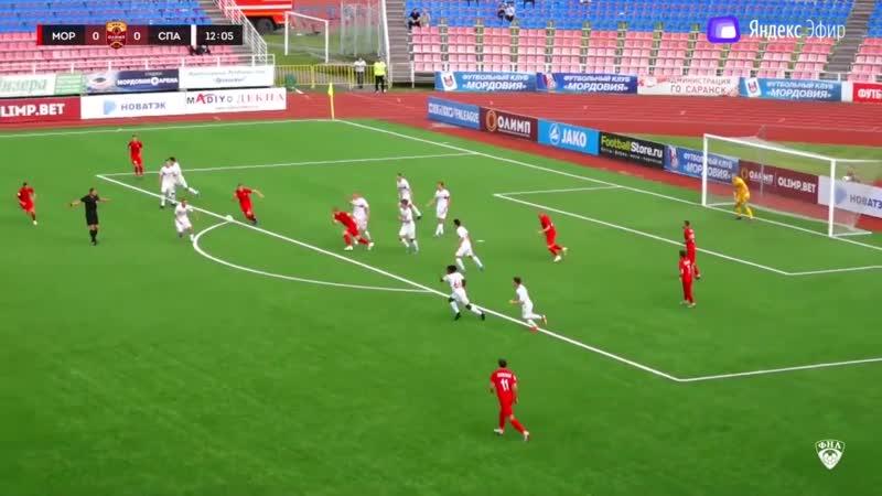 Мордовия (Саранск) - Спартак-2 (Москва). ФНЛ - первый дивизион. 3 тур. 20.07.2019