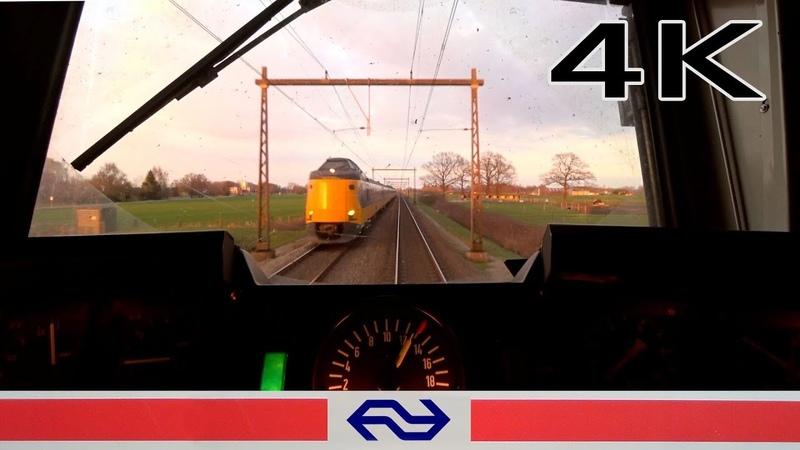 Speed monitoring 4K CABVIEW HOLLAND Apeldoorn - Enschede DD-AR LOC 1700 19mrt 2019