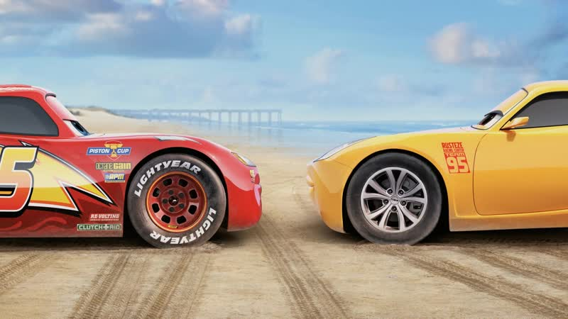 Cars 3 - Lightning Mcqueen, Cruz Ramirez