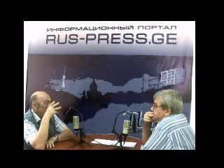 14.09.2011. Тбилисская неделя. Гостиная. Интервью с ученым-этологом Ясоном Бадридзе.