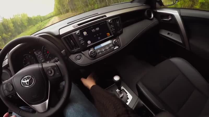 Чем хуже РОССИЙСКИЙ Тойота РАВ4 Wylsacom растерян. Тест драйв и обзор Toyota RAV4 2017