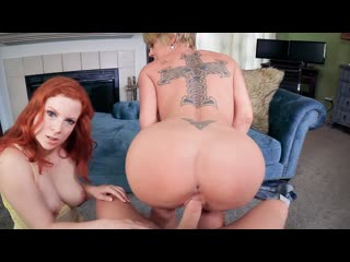 Dee williams, lady fyre pounded until pregnant (milf, threesome, big ass, big tits, blonde, blowjob, cowgirl, creampie)