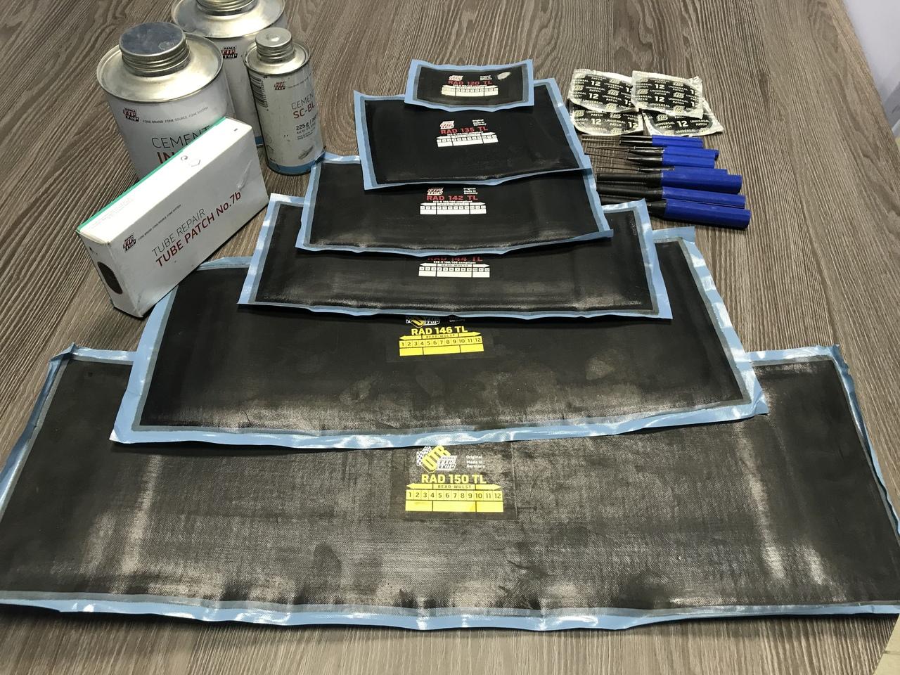 Качественные расходные материалы для шиномонтажа в Шинном центре МВБ, Луховицы, 136 км трассы М5