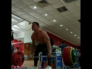 Deadlift 210 kg /no doping /41 year,81 kg