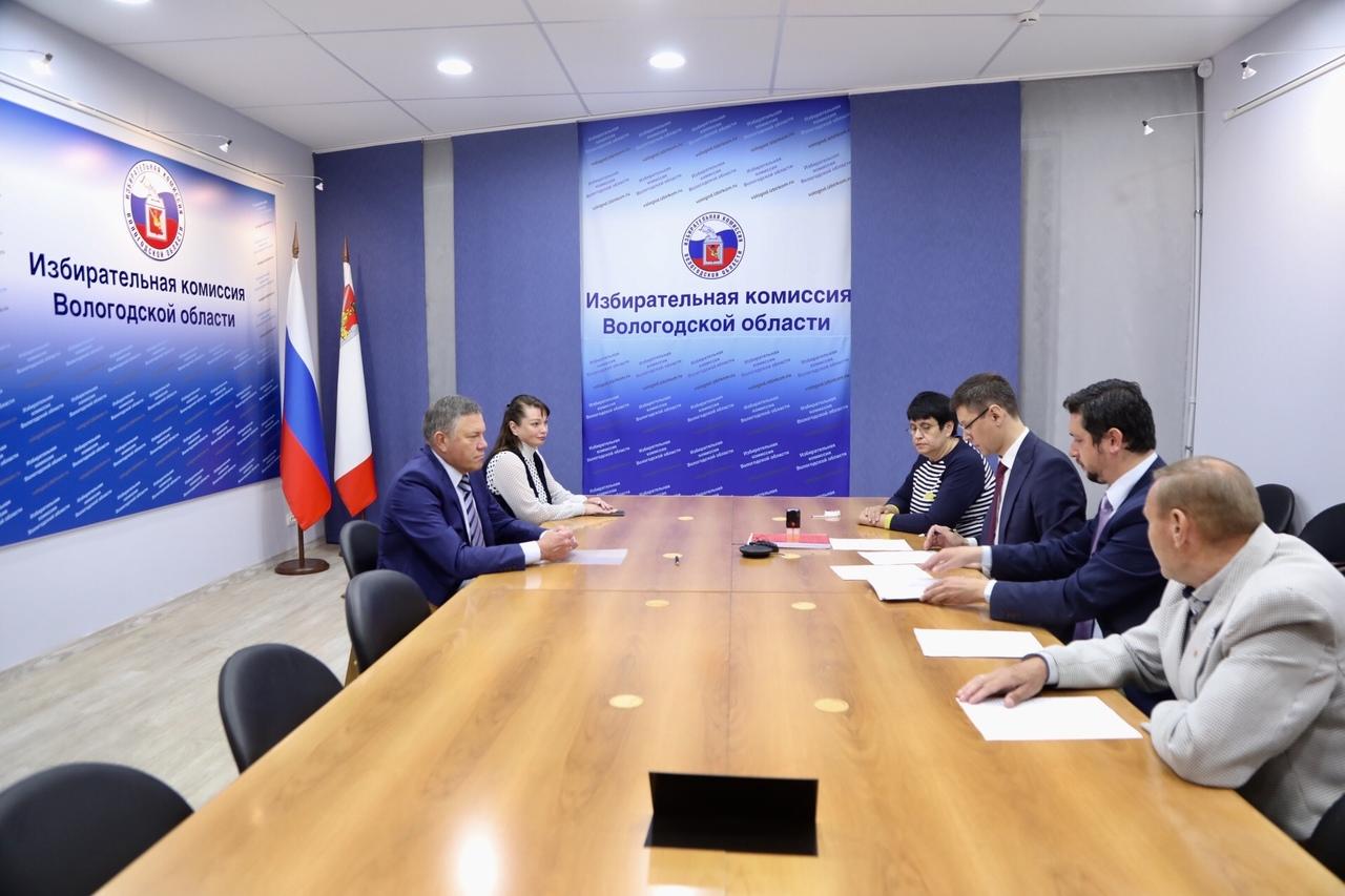 Олег Кувшинников официально стал кандидатом на пост губернатора Вологодчины