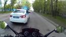 Погоня ДПС за мотоциклом. Иркутск