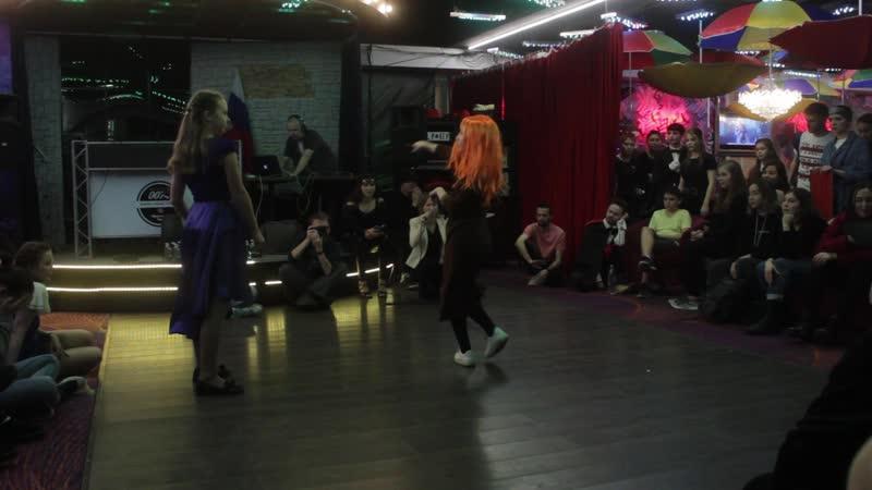 DoubleVfest Waack Beg Battles Katya vs Alina
