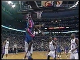 Ben Wallace - Gather Step Tip-Dunk Over Donyell Marshall (2004)
