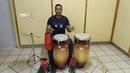 Set de percusion Como tocar son cubano salsa congas clave guiro y campana