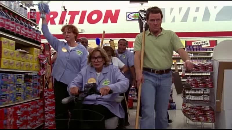 Бунт работников магазина - Малкольм в центре внимания S05E02 (2003)