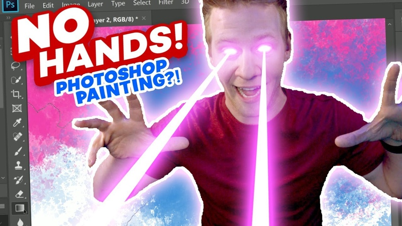Can I DRAW Using ONLY my EYES??! - (This is Magic!!)