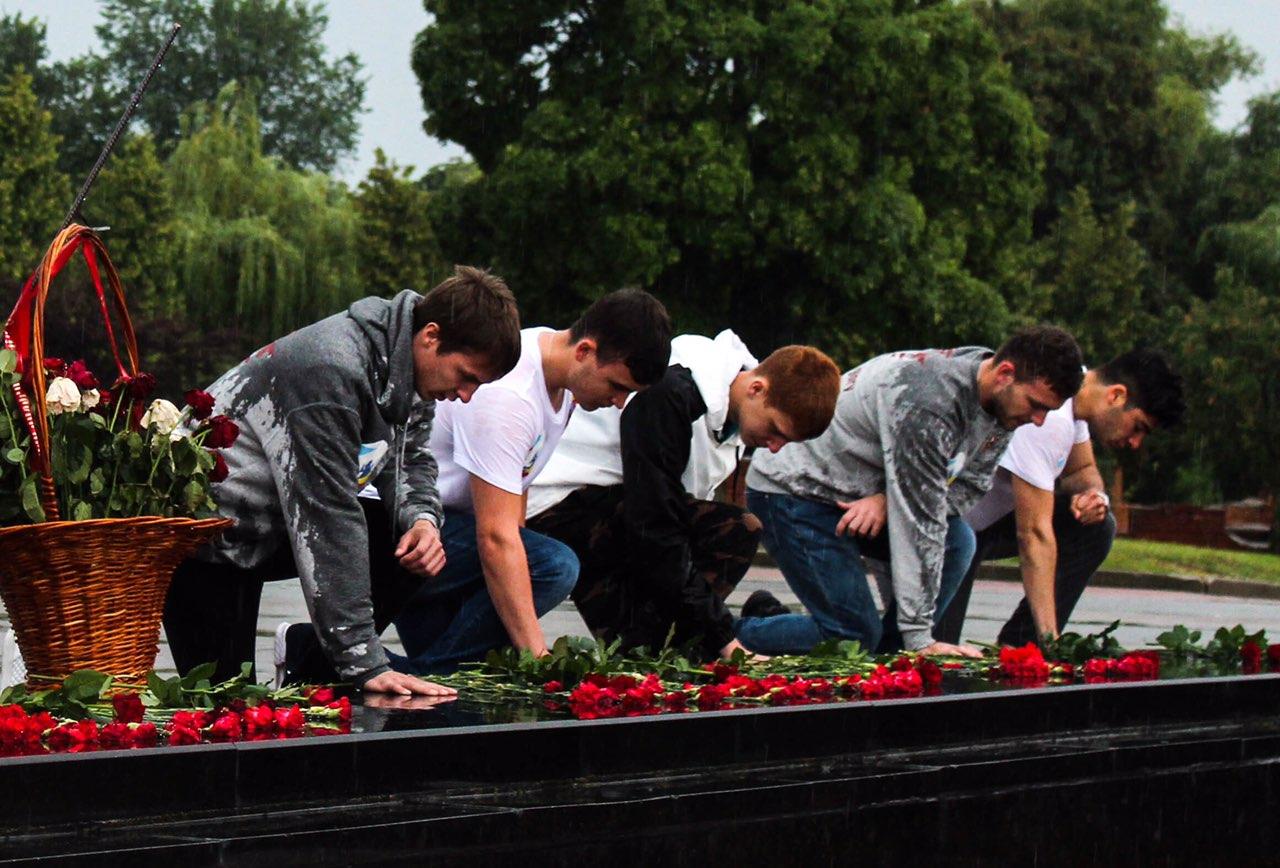 Состоялся визит в Брест молодежи из Ростова-на-Дону