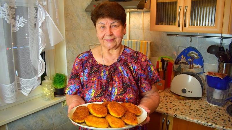 Картофельные зразы, прямо тают во рту - бюджетный вариант (Potato pancakes (ZRAZES)) Мамины рецепты