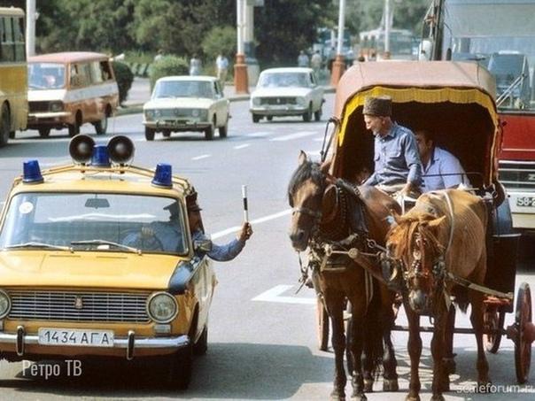 Нарушитель  Баку, 1987 год.