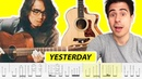 Mateus Asato - Yesterday (with TABS) - by Riff_Hero