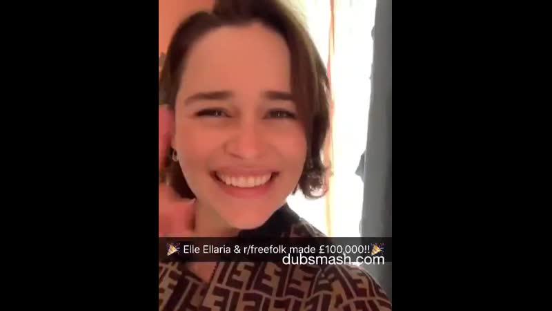 Ella Ellaria já acumulou 100 mil euros para o SameYou!!