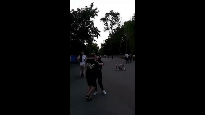 Опен в парке Дружба бачата кизомба