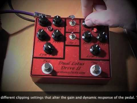 Wilson Effects: Dual Lotus Drive II (with Strat to Laney L5T)