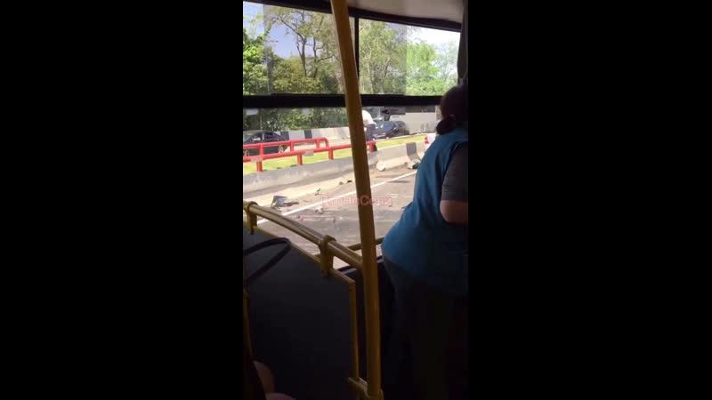 Страшная авария в Кудепсте произошла утром 18 мая По информации очевидцев жертв нет Обстоятельства устанавливаются